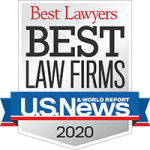 US News Best Law Firms of 2020 Logo. Fergeson Skipper P.A. is proud to be one of the Best Law Firms in Florida.