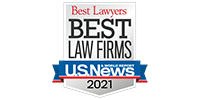 US News Best Law Firms of 2021 Logo. Fergeson Skipper P.A. is proud to be one of the Best Law Firms in Florida.